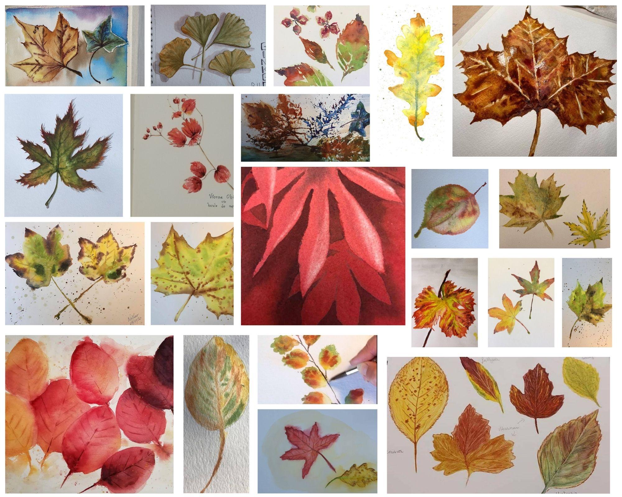 Pele-Mele feuilles automne